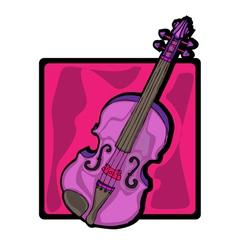 Violin clip art vector