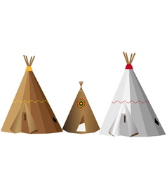 Wigwams vector