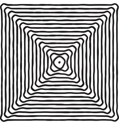 Hypnotic Fascinating Abstract Image vector image