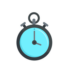 Contraceptive stopwatch icon flat style vector