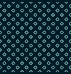 Rhombuses star polka dot retro floral pattern vector