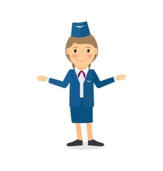 Stewardess character vector