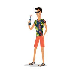 Summer vacation pleasure vector