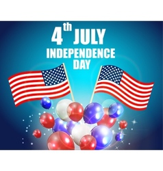 Independence Day Poster vector image vector image