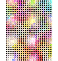 Sweet dot color background vector image