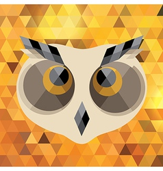 Creative owl vector