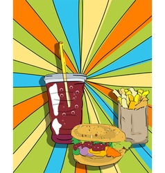 pop art graphic vector image vector image