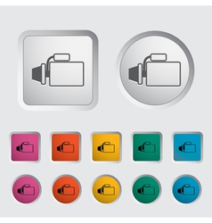 automotive starter vector image
