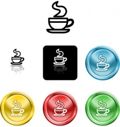 coffee cup icon symbol vector image