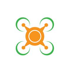drone icon logo image vector image