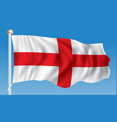 flag of england vector image
