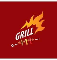 Logo barbecue vector