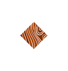 Logo parquet laminate flooring tiles vector