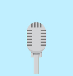 microphone icon set of great flat icons use for vector image