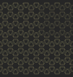 pattern with rounded triangles vector image