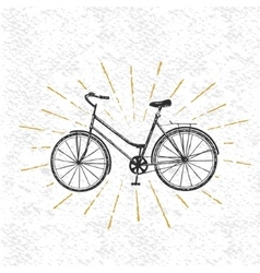 Sign of bicycle vector