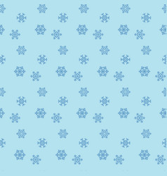 snowflakes icons vector image