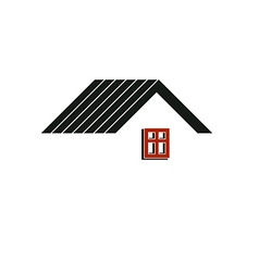 Simple architectural construction house abstract vector image vector image