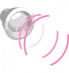 speaker illustration vector image vector image