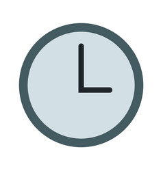 clock time watch break work image vector image