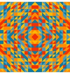 Colorful trianglulation pattern vector