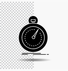 Done fast optimization speed sport glyph icon on vector