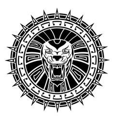 ethnic tattoo 0002 vector image