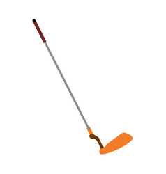 Golf club stick vector