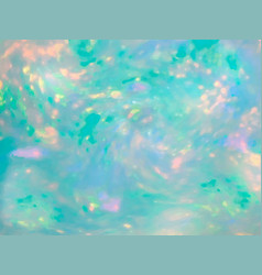 Opal gemstone background trendy template for vector