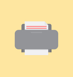 printer icon set of great flat icons use for vector image