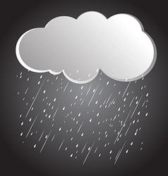 Rain clouds 3 vector