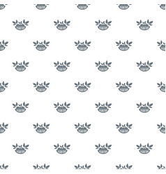 vegan food pattern seamless vector image