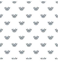 vegan food pattern seamless vector image