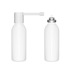 bottle spray vector image