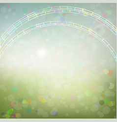 background with an abstract rainbow vector image