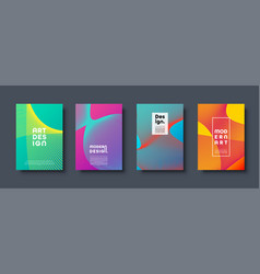 abstract modern background geometric shapes vector image