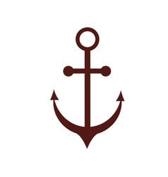 Anchor icon image vector