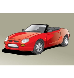 car illustration vector image