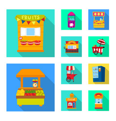 Design amusement and store symbol vector