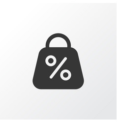 Discount icon symbol premium quality isolated vector
