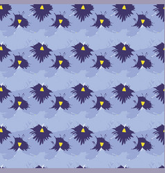 Seamless pattern with pansies flower vector