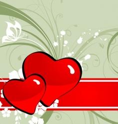 st valentine banner vector image