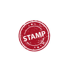 stamp texture rubber cliche imprint web or print vector image