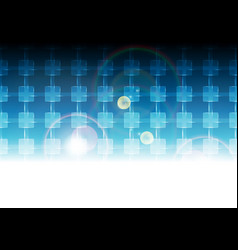 blue vibrant tech background pattern vector image vector image