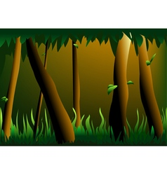 Jungle vector image
