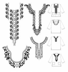 Muslim shirt vector image vector image
