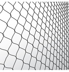 Wire fence vector image