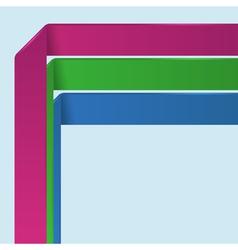 Background number options banner vector