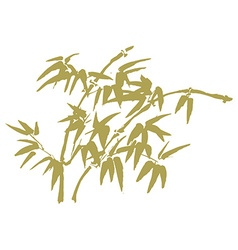 chinese painting flowers vector image