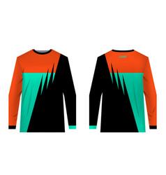 Jersey design sportwear vector